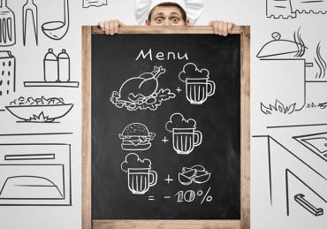 Como definir preços do cardápio de um food service