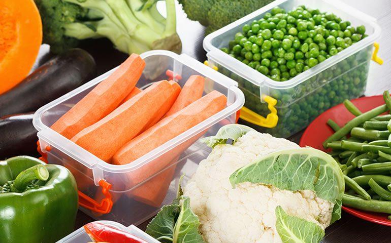 Saiba como armazenar os alimentos corretamente